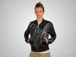 Tekstylia adidas KURTKA ADIADS EF FAUX LEATHER JACKET