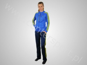 Tekstylia adidas DRES ADIADS YOUNG KNIT SUIT