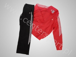Tekstylia adidas JUNIORSKI DRES SPORTOWY ADIDAS YOUNG CLIMACOOL WOVEN TRACKSUIT